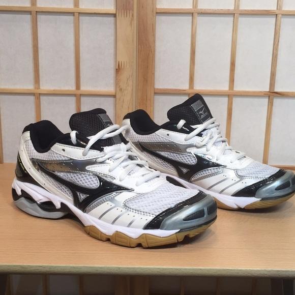 mizuno volleyball shoes hurricane nylon